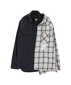 MAISON MIHARA YASUHIRO(Men)/メゾン ミハラ ヤスヒロ シャツ Left Docking Shirts