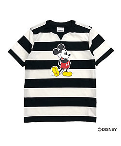 Mickey Mouse crew neck s/s striped tee.sc.0099aSS20