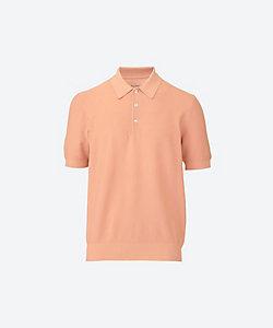 GRAN SASSO(Men)/グランサッソ ニットポロシャツ