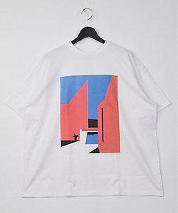 Graphpaper(Men)/グラフペーパー Tシャツ(TypeA/NAGAI HIROSHIー1)