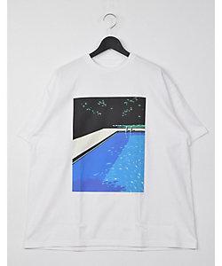 Graphpaper(Men)/グラフペーパー Tシャツ(TypeB/NAGAI HIROSHIー3)