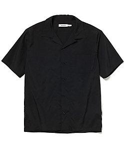nonnative(Men)/ノンネイティブ 半袖オープンカラーシャツ BOWLER SHIRT  S/S POLY WEATHER STRETCH NN-S3719