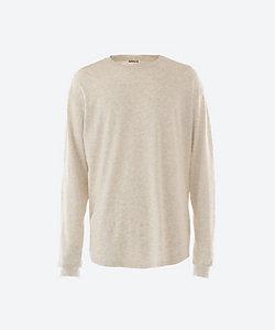 AURALEE(Men)/オーラリー ロングスリーブTシャツ SEAMLESS L/S TEE A20AP02ST