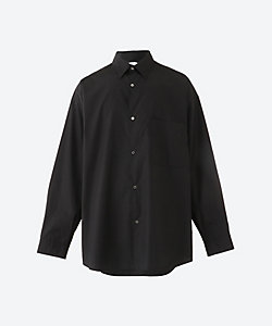 Graphpaper(Men)/グラフペーパー オーバーサイズシャツ Broad L/S Oversized Regular Collar Shirt GM203 50110B