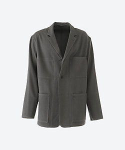 Graphpaper(Men)/グラフペーパー ワークジャケット Wool Kersey French Work Jacket GM203 20052