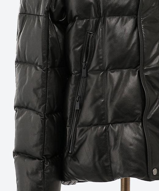 レザーダウンジャケット BOESHO MTIS20A4566 D