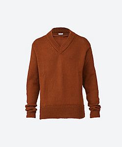 SEEALL(Men)/シーオール セーター SAU01 KN298 LAYERED V NECK SWEATER