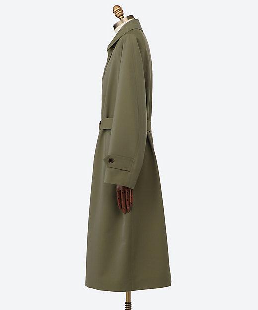 ステンカラーコート WOOL MAX CANVAS CHAMBRAY SOUTIEN COLLAR COAT A21SC01WC