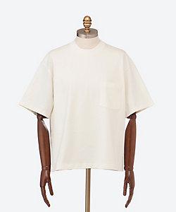 AURALEE(Men)/オーラリー ビッグシルエットポケット付き半袖Tシャツ STAND-UP TEE A21ST01SU