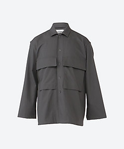 Graphpaper(Men)/グラフペーパー ミリタリージャケット Wooly Cotton Military Jacket GM211 30051