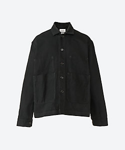 MARKAWARE(Men)/マーカウェア ワ-クジャケット HEMP COTTON DRILL WORK JACKE A21A 02BL01C