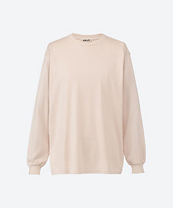 AURALEE(Men)/オーラリー 長袖Tシャツ *LUSTER PLAITING L/S TEE A00SP01GT