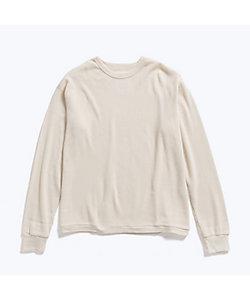 ロングスリーブTシャツ WAFFLE ONE SIDE RAGLAN A20A‐12CS01C