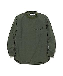 コットンプルオーバーシャツ COACH PULLOVER SHIRT COTTON TYPEWRITER NN‐S3705
