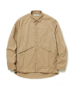 コットンシャツジャケット COACH SHIRT JACKET COTTON TWILL VW NN‐SJ3708