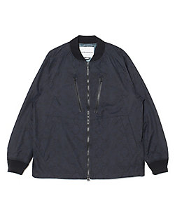 White Mountaineering/ホワイトマウンテニアリング ブルゾン SAITOS PYTHON PRINTED RAGLAN JACKET WM2073201