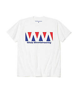 White Mountaineering/ホワイトマウンテニアリング カットソー LOGO PRINTED T SHIRT WM2071537