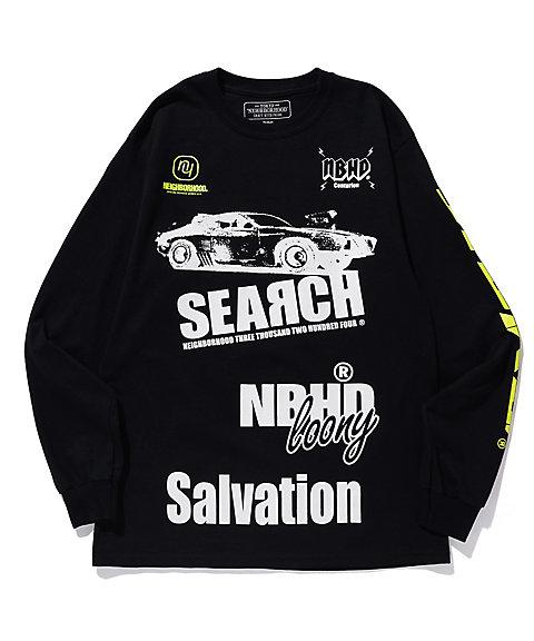<ネイバーフッド/NEIGHBORHOOD> ロングTシャツ SEARCH/CE-TEE. LS BLACK 【三越・伊勢丹/公式】