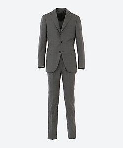 ISETAN MEN'S(Men)/イセタンメンズ グレーチェック 1プリーツ スーツ
