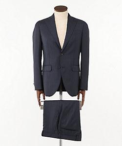 ISETAN MEN'S(Men)/イセタンメンズ 紺ストライプスーツ(Vitale Barberis Canonico社製生地使用)