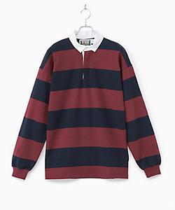 COLUMBIA KNIT(Men)/コロンビアニット ラグビーシャツ CL190CT12011