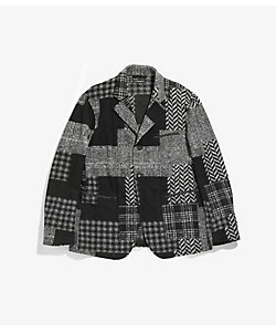 Engineered Garments(Men)/エンジニアド ガーメンツ ジャケット Leisure Jacket - Knit Patchwork HB HJ123
