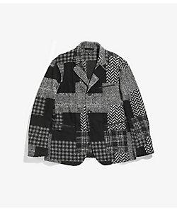 Engineered Garments(Men)/エンジニアド ガーメンツ ジャケット Leisure Jacket - Knit Patchwork HB HJ123