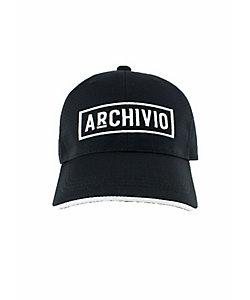 archivio/アルチビオ メンズ モノトーンロゴキャップ