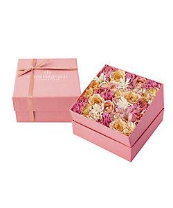Nicolai Bergmann Flowers & Design/ニコライ バーグマン フラワーズ & デザイン 【4】母の日限定 フレッシュフラワーボックスMピンク 5月6日(木)~5月9日(日)届け