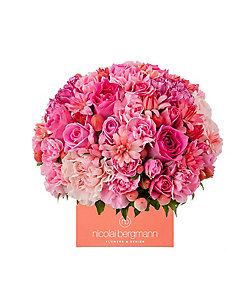 Nicolai Bergmann Flowers & Design/ニコライ バーグマン フラワーズ & デザイン 【6】母の日限定 フレッシュフラワーキューブアレンジメントM 5月6日(木)~5月9日(日)届け