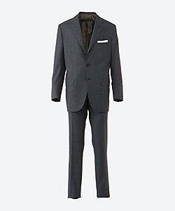 Kiton(Men)/キートン シングル 3ボタン スーツ ブルー