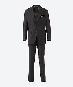 Kiton(Men)/キートン シングル 3ボタン スーツ グレー