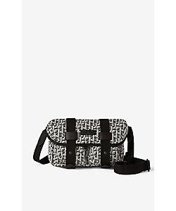 KENZO (Men)/ケンゾー バッグ Kenzo Trek Mgm Jacquard Flap Belt Bag FB55SA707B02
