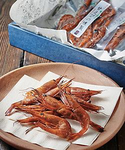 秋田【岩城の燻製屋チャコール】殻ごとパクリ甘えびの燻製