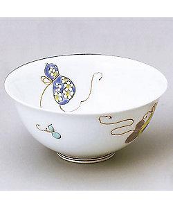 深川製磁/フカガワセイジ 六瓢松竹梅 秋型飯碗