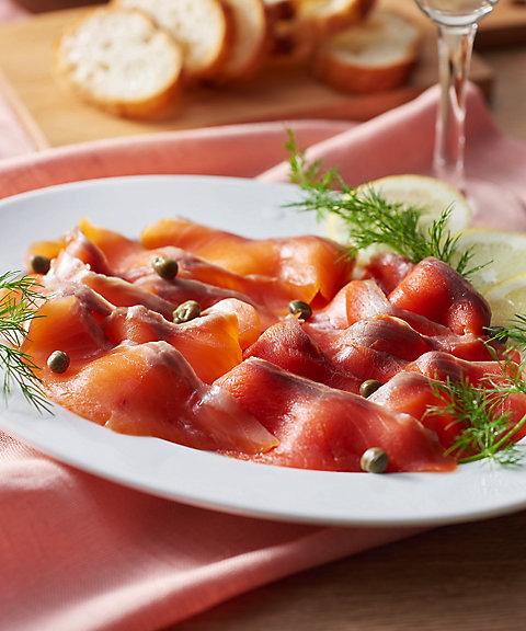 北海道【鮭匠 ふじい】天然スモークサーモン食べ比べ【三越・伊勢丹/公式】