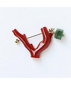 MONAKA jewellery(Women)/モナカ Coral Rock Pierced Earring ※シングル