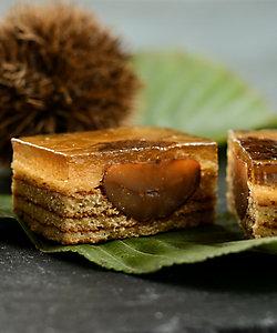 まめや金澤萬久/マメヤカナザワバンキュウ わらび餅のバウム・マロン(15個入り)