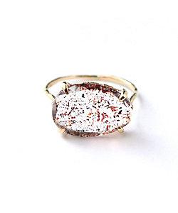 MONAKA jewellery(Women)/モナカ Strawberry Quartz Ring