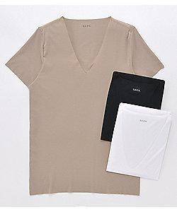 SEEK(Men)/シーク 年間素材/VネックTシャツ(EE3314)