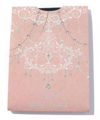 <ローズティアラL/Rose Tiara L>【大きいサイズ対応】80デニールタイツ ネービーブルー<三越・伊勢丹/公式>