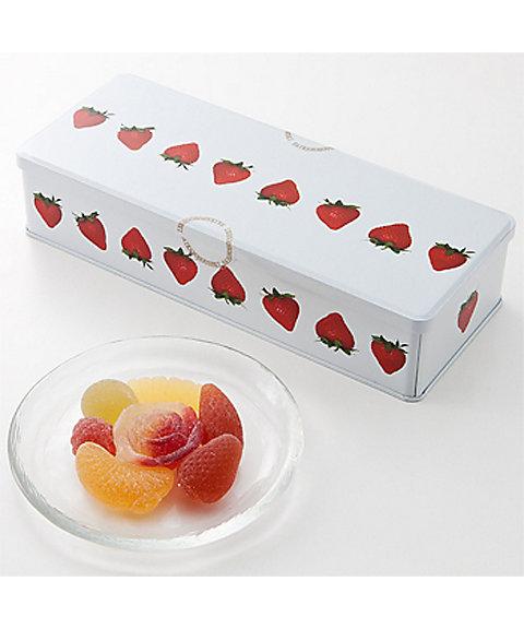 フルーツゼリー 苺缶【彩果の宝石】