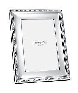 CHRISTOFLE/クリストフル パール フォトフレーム (パールモチーフ) (18×24cm)