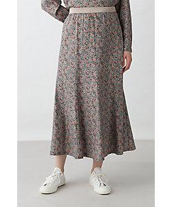 HUMAN WOMAN(Women)/ヒューマンウーマン ◆フラワープリントスカート(0771120101)