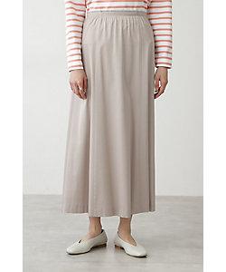 HUMAN WOMAN(Women)/ヒューマンウーマン ◆モダールハイパワーサテンSTスカート(0771120102)