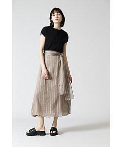 ADORE(Women)/アドーア シアーストライプスカート(5310120504)