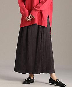 I.T.'S. INTERNATIONAL(Women)/イッツインターナショナル ワッシャープリーツスカート(1004152030)