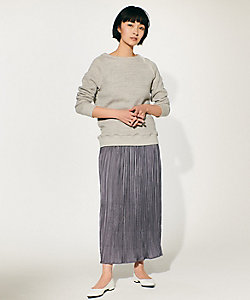 I.T.'S. INTERNATIONAL(Women)/イッツインターナショナル ワッシャープリーツスカート(1011152018)
