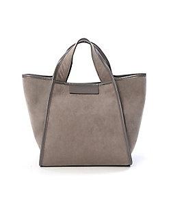 INED(Women)/イネド 《SUPERIOR CLOSET》スエードデザインハンドバッグ(7104201602)