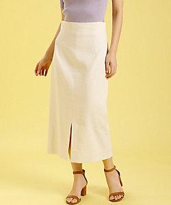 INED L(Women/大きいサイズ)/イネドL 《大きいサイズ》ハイウエストタイトスカート《PONTETORTO》 (7502152014)